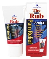 NatraBio - The Arnica Rub Homeopathic Pain Relief Cream - 2 oz. by NatraBio