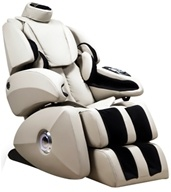 Osaki - Executive Zero Gravity S-Track Massage Chair OS-7075RC Cream - $3795