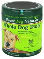 Green Dog Naturals - Whole Dog Daily Powder with Probiotics and Omegas - 300 Grams (021888750054)
