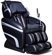 Osaki - Executive Zero Gravity S-Track Heating Massage Chair OS-7200HA Black
