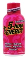 5 Hour Energy - Energy Shot Pink Lemonade Flavor - 1.93 oz.