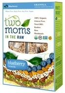 Two Moms in The Raw - Gluten Free Organic Granola Blueberry - 8 oz., from category: Health Foods