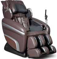 Osaki - Executive Zero Gravity S-Track Heating Massage Chair OS-7200HB Brown by Osaki