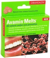 OraHealth - Avamin Melts - 30 Disc(s)
