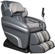 Osaki - Executive Zero Gravity S-Track Heating Massage Chair OS-7200HD Charcoal by Osaki