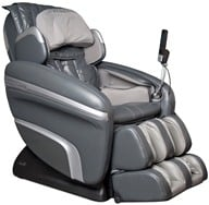 Osaki - Executive Zero Gravity S-Track Heating Massage Chair OS-7200HD Charcoal - $3795