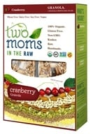 Two Moms in The Raw - Gluten Free Organic Granola Cranberry - 8 oz.