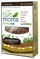 Two Moms in The Raw - Gluten Free Organic Sea Cracker Garden Herb - 4 oz.