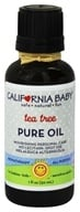 Image of California Baby - Aromatherapy All-Purpose Pure Oil Tea Tree - 1 oz.