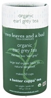 Image of Two Leaves Tea Company - Black Tea Organic Earl Grey - 3.5 oz. Formerly Two Leaves and a Bud