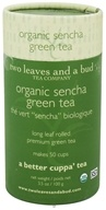 Image of Two Leaves Tea Company - Green Tea Organic Sencha - 3.5 oz. Formerly Two Leaves and a Bud