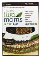 Two Moms in The Raw - Gluten Free Organic Granola Raisin - 8 oz. - $8.06