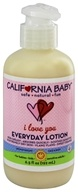 Image of California Baby - Everyday Lotion I Love You - 6.5 oz.