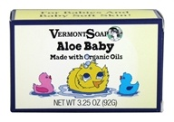 Vermont Soapworks - Bar Soap Aloe Baby - 3.25 oz.