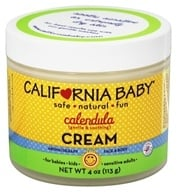 California Baby - Calendula Cream - 4 oz. (792692334678)