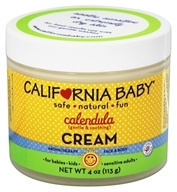 California Baby - Calendula Cream - 4 oz. - $18.88