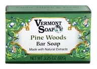 Vermont Soapworks - Bar Soap Pine Woods - 3.25 oz.