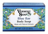 Image of Vermont Soapworks - Bar Soap Blue Bar - 3.25 oz.