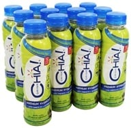 Drink Chia - Whole Omega-3 Superfood Drink Honeysuckle Pear - 10 oz.