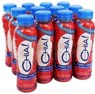 Drink Chia - Whole Omega-3 Superfood Drink Strawberry Citrus - 10 oz.