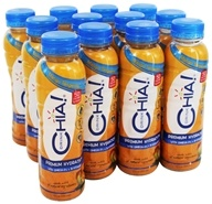 Drink Chia - Whole Omega-3 Superfood Drink Mango Tangerine - 10 oz. (853569003148)