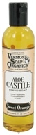 Vermont Soapworks - Aloe Castile Liquid Soap Sweet Orange - 8 oz.