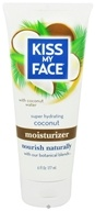 Image of Kiss My Face - Moisturizer Super Hydrating Coconut - 6 oz.