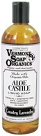 Image of Vermont Soapworks - Aloe Castile Liquid Soap Country Lavender - 16 oz.