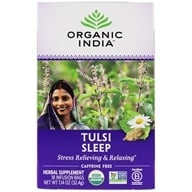 Image of Organic India - True Wellness Tusli Sleep Tea - 18 Tea Bags