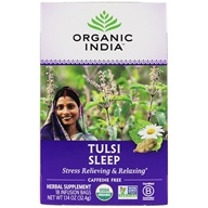 Organic India - True Wellness Tusli Sleep Tea - 18 Tea Bags (801541507580)