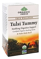 Organic India - True Wellness Tusli Tummy Tea - 18 Tea Bags (801541507603)