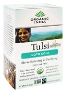 Image of Organic India - Tulsi Tea Gotu Kola - 18 Tea Bags