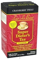 Image of Laci Le Beau - Super Dieter's Tea Cleanse Cranberry Twist - 15 Tea Bags