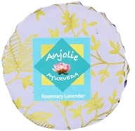 Anjolie Ayurveda - Rosemary Lavender Soap - 150 Grams, from category: Personal Care