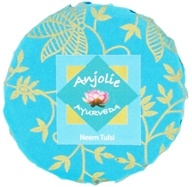 Anjolie Ayurveda - Neem Tulsi Soap - 150 Grams CLEARANCE PRICED (837654237557)