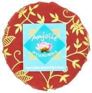 Anjolie Ayurveda - Royal Saffron Almond Milk & Honey Soap - 150 Grams CLEARANCE PRICED (837654237564)