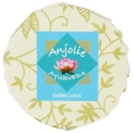 Anjolie Ayurveda - Indian Lotus Soap - 150 Grams CLEARANCE PRICED by Anjolie Ayurveda