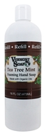 Image of Vermont Soapworks - Foaming Hand Soap Refill Tea Tree Mint - 16 oz.