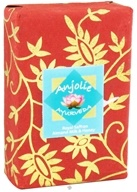 Anjolie Ayurveda - Royal Saffron Almond Milk & Honey Soap - 100 Grams, from category: Personal Care