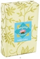 Image of Anjolie Ayurveda - Indian Lotus Soap - 100 Grams