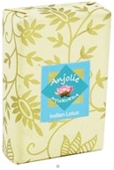 Anjolie Ayurveda - Indian Lotus Soap - 100 Grams, from category: Personal Care