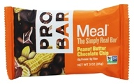 Image of Pro Bar - Whole Food Meal Bar Original Collection Peanut Butter Chocolate Chip - 3 oz.