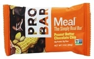 Pro Bar - Whole Food Meal Bar Original Collection Peanut Butter Chocolate Chip - 3 oz. (853152100322)