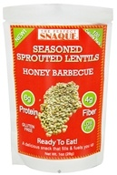 Image of The Perfect Snaque - Seasoned Sprouted Lentils Honey Barbecue - 1 oz.