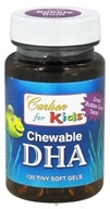 Carlson Labs - Kids Chewable DHA Bubble Gum - 120 Softgels, from category: Nutritional Supplements