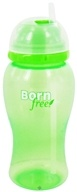 Image of BornFree - Twist 'N Pop Straw Cup BPA Free 18 Months + Green - 14 oz. CLEARANCE PRICED