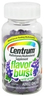 Centrum - Flavor Burst Multivitamin/Multimineral Wild Grape Flavor - 60 Chews, from category: Vitamins & Minerals