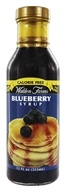 Walden Farms - Calorie Free Pancake Syrup Blueberry - 12 oz.