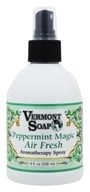 Vermont Soapworks - Air Freshener Aromatherapy Peppermint Magic - 8 oz.