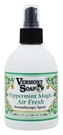 Vermont Soapworks - Air Freshener Aromatherapy Peppermint Magic - 8 oz. by Vermont Soapworks
